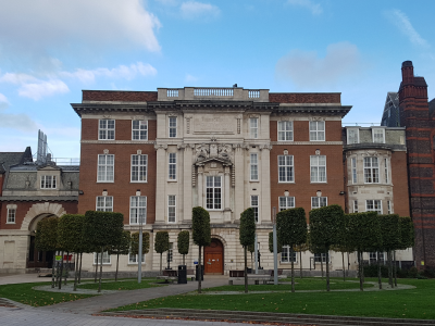 Picture of the Ashton Building, University of Liverpool, UK
